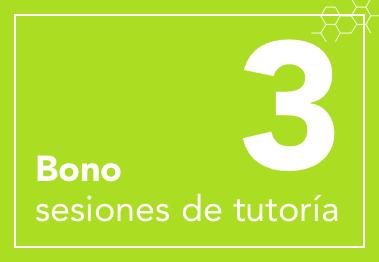Bono de 3 sesiones de tutoría