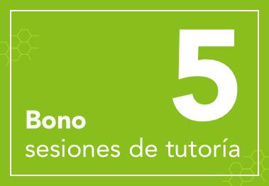 Bono de 5 sesiones de tutoría