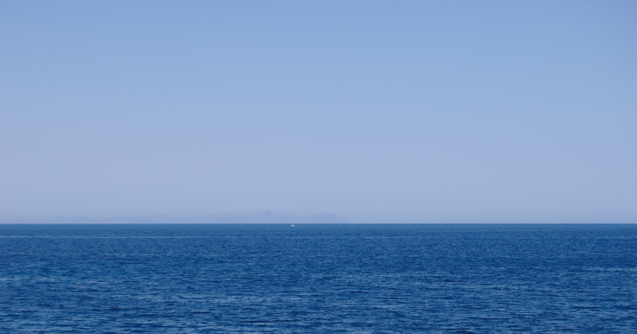 Vista de Mallorca desde el mar