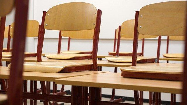 Sillas de un aula