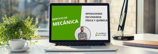 Clase online de Oposiciones de Física y Química